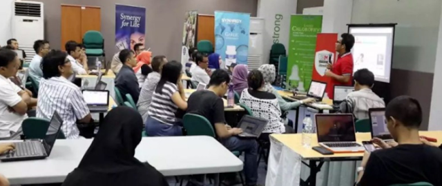 Belajar Internet Marketing SB1M di Pamager Sari Bogor