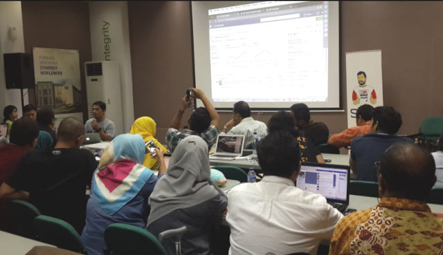 Belajar Internet Marketing SB1M di Taman Sari Bogor